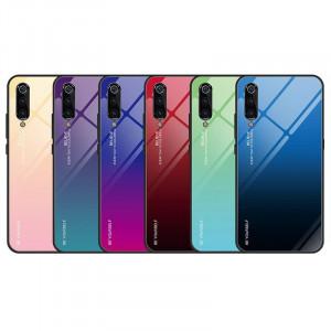 Чехол Huawei P30 Lite градиент TPU+Glass