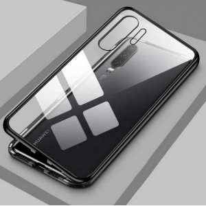 Магнитный чехол для Huawei p30 pro Magnetic Case – OneLounge Glass