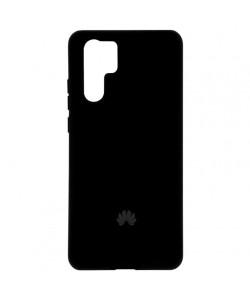 Чехол Huawei P30 Pro Silicone Case Full – Черный