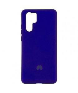 Чехол Huawei P30 Pro Silicone Case Full – Фиолетовый