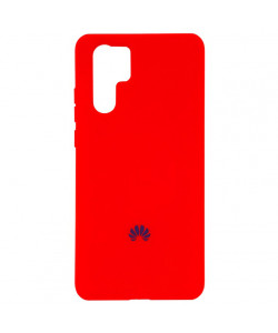 Чехол Huawei P30 Pro Silicone Case Full – Красный