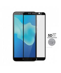 5D Стекло Huawei Y5 2018 – Скругленные края