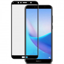 3D Стекло Huawei Y7 Prime 2018 – Full Glue (С полным клеем)