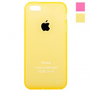 Чехол iPhone 5 силиконовый (Цветной)