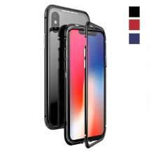Магнитный чехол для Iphone X Magnetic Case – OneLounge Glass