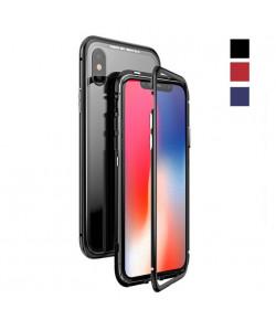 Магнитный чехол для Iphone X Magnetic Case – OneLounge Glass