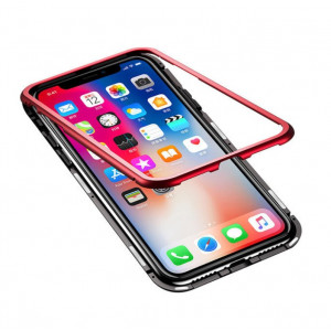 Магнитный чехол для Iphone X Magnetic Case – OneLounge Glassa
