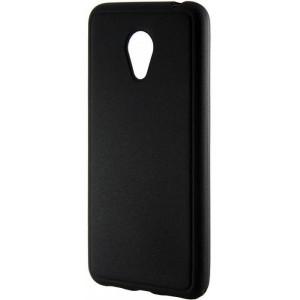 Черный силиконовый чехол для Meizu M3 Mini / M3s