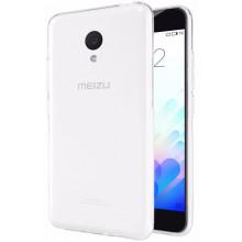 Силиконовый чехол Meizu M3 Mini / M3s Ультратонкий