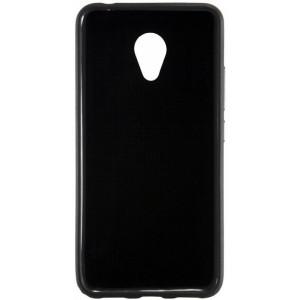Черный силиконовый чехол для Meizu M3 Note