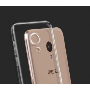 Силиконовый чехол Meizu M5 Ультратонкий