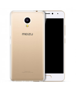 Силиконовый чехол Meizu M5c Ультратонкий