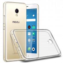 Силиконовый чехол Meizu M5s Ультратонкий