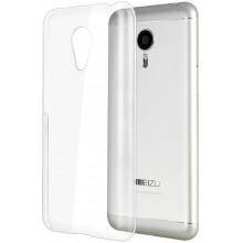 Силиконовый чехол Meizu MX5 Ультратонкий