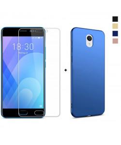 Стекло + Бампер Meizu M6 – Soft Touch (Комплект)