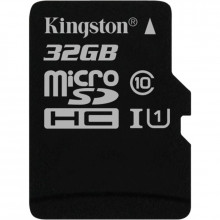Карта памяти 32 Gb MicroSD Kingston Class 10