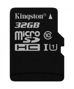 Карта памяти 32 Gb MicroSD Kingston Class 10