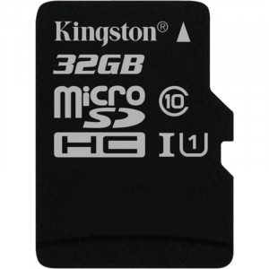 Карта памяти 32 GB microSD Kingston UHS-I Canvas Select (без адаптера) SDCS/32GBSP
