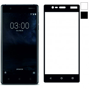 3D стекло Nokia 3 – Full Cover. Все цвета.