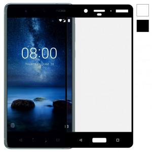 3D стекло Nokia 8 – Full Cover. Все цвета.