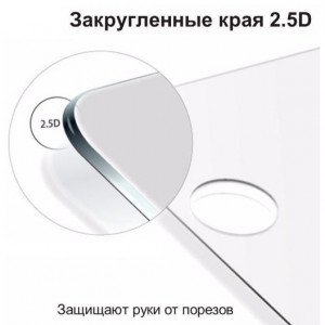 3D Стекло Nokia 3.1 Plus – Full Glue (Клей по всей поверхности)