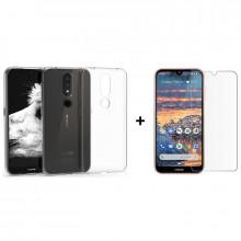 Комплект: Чехол + Стекло Nokia 4.2