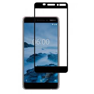 3D Защитное Стекло на Nokia 6 2018 – Full Glue (С полным клеем)