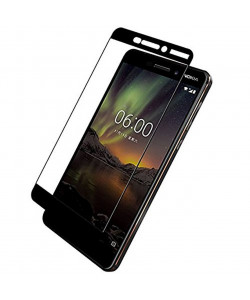 3D Защитное Стекло Nokia 6 2018 – Full Glue (С полным клеем)