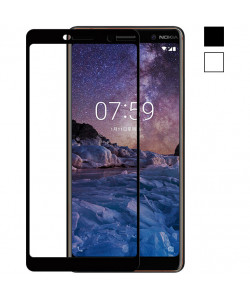 3D Стекло Nokia 7 Plus – Full Cover