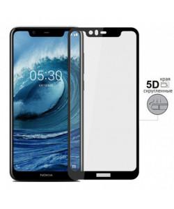5D Стекло Nokia X5 / 5.1 Plus – Скругленные края