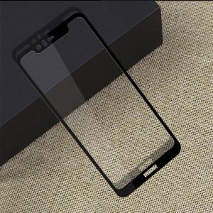 Бампер + 3D Стекло Nokia X5 / 5.1 Plus – Black (Комплект)