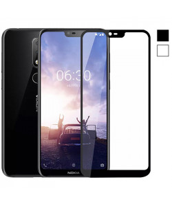 3D Стекло Nokia X6 / 6.1 Plus – Full Cover