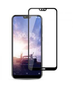 5D Стекло Nokia X6 / 6.1 Plus – Скругленные края