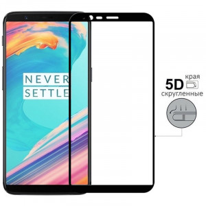 5D Стекло OnePlus 5T – Скругленные края