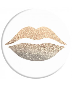 Popsocket 3M Золотые губы + Автодержатель