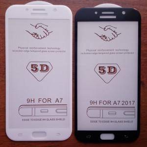 5D стекло Samsung A7 2017 A720 – Скругленные края