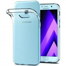 Силиконовый чехол Samsung A7 2017 A720 Ультратонкий