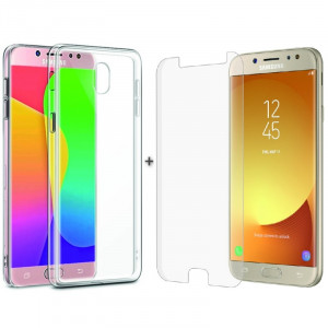 Комплект: Чехол + Стекло Samsung J5 2017 J530