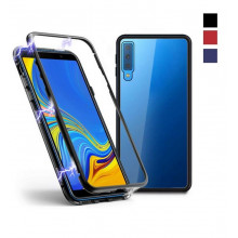 Магнитный чехол для Samsung A7 2018 Magnetic Case – OneLounge Glass