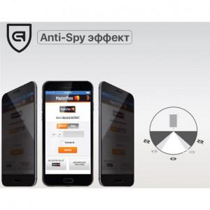 Защитное стекло Samsung Galaxy A7 (2018) Privacy Anti-Spy (Конфиденциальное)