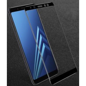 Стекло Samsung A8 2018 – Клей по всей поверхности