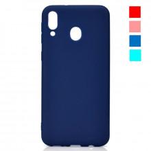 Чехол Samsung Galaxy A30 – Цветной (TPU)