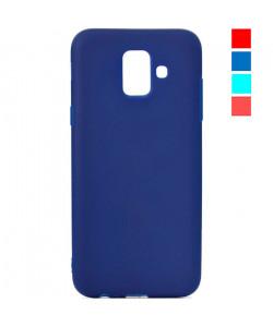 Чехол Samsung A6 2018 – Цветной (TPU)