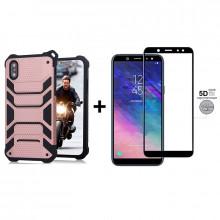 Чехол + 5D Стекло Samsung A6 2018 (Комплект)