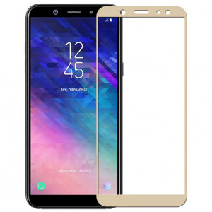 5D Стекло Samsung A6 Plus 2018 – Скругленные края