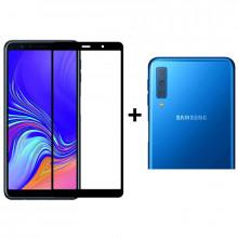 Комплект стекол Samsung Galaxy A7 2018