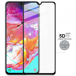 5D Стекло Samsung Galaxy A70 – Скругленные края