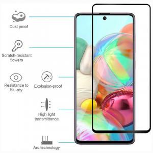 3D Стекло Samsung Galaxy A71 – Full Glue (С полным клеем)