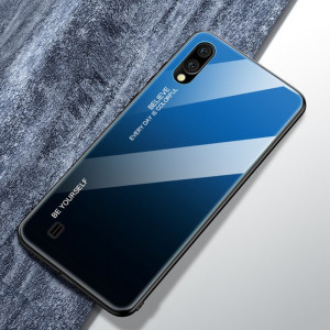 Чехол Samsung Galaxy M10 градиент TPU+Glass