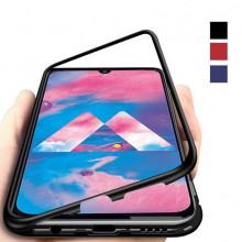 Магнитный чехол для Samsung M30 Magnetic Case – OneLounge Glass